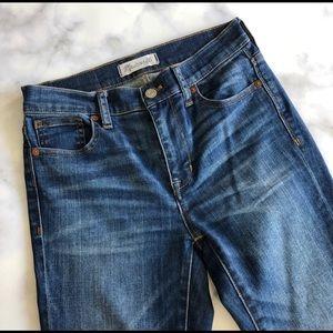 Madewell skinny high rise jean